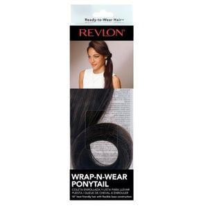 Revlon Easy Wrap-n-Wear Full Ponytail Dark Brown